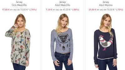 jerseis mujer baratos