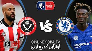مشاهدة مباراة تشيلسي وشيفيلد يونايتد بث مباشر اليوم 21-03-2021 في كأس الإتحاد الإنجليزي
