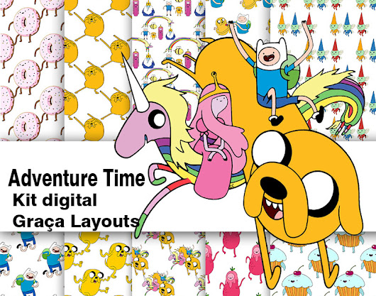 Kit digital Adventure Time gratis