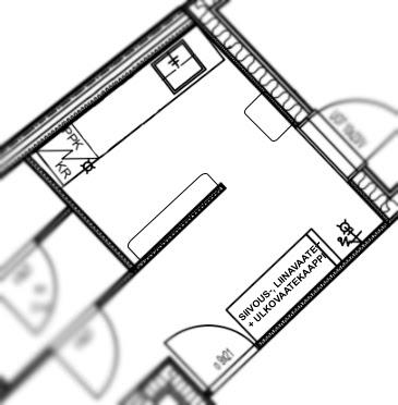 Kodinhoitohuone ja arkieteinen