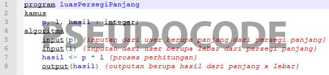 Penulisan Algortima dengan Pseudocode - 4 Engineering