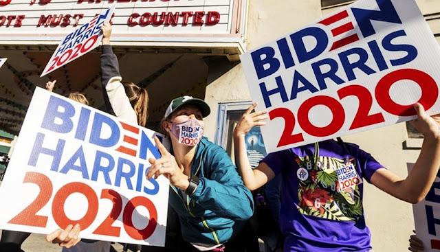 EEUU y el mundo celebraron el triunfo electoral de Joe Biden