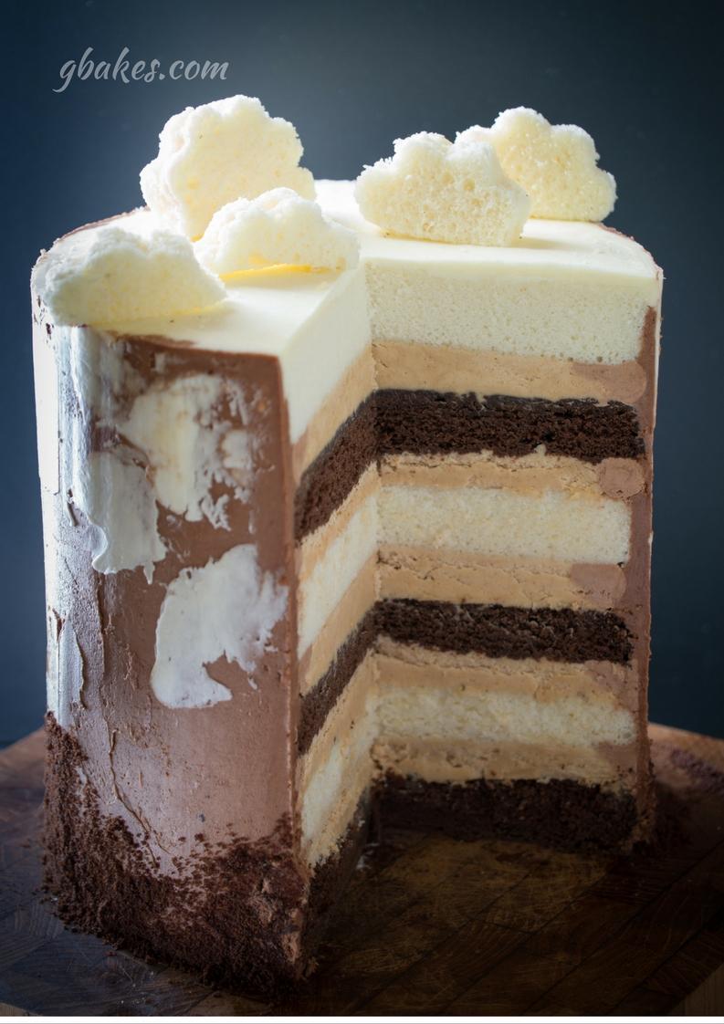 The Heaven and H.E. Double Hockey Sticks Cake