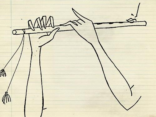 krishna pencil drawing for janmashtami