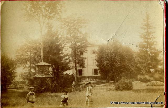 Photo noir et blanc 1900