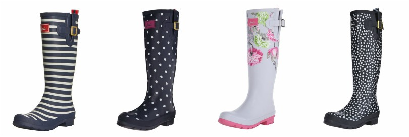 Joules Welly Print Rain Boots for as low as $28 (reg $105)