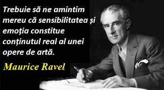 Maxima zilei: 7 martie - Maurice Ravel