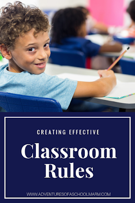 Developing effective classroom rules is so important to the success of your classroom. Use these tips to set your students up for success!