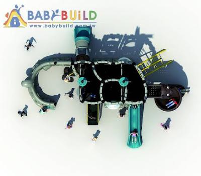BabyBuild 海盜船遊具