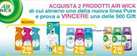 Logo Concorso ''Vinci Tigotà 2018'' con AirWick, Finish,Napisan, Vanish e Calgon:  vinci 1.000 card da 25€