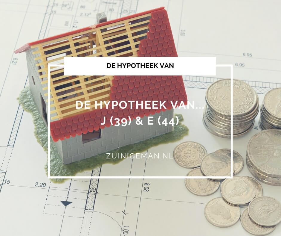 De hypotheek van J (39) & E (44) vrijstaande jaren 30 woning
