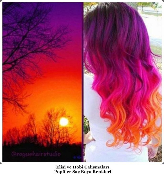 Popüler Saç Boya Renkleri