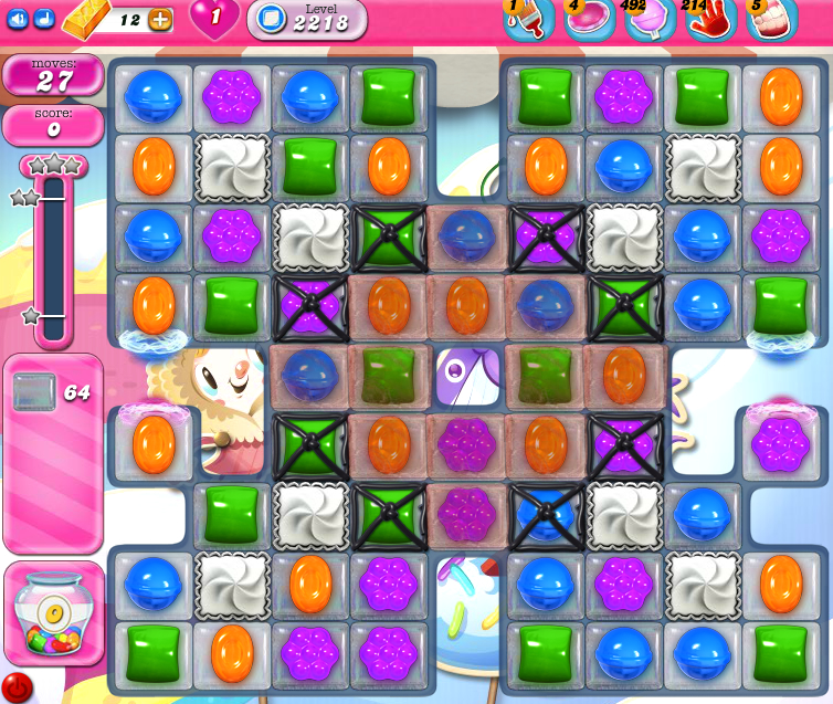 Candy Crush Saga level 2218