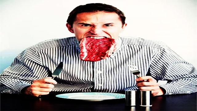 هل تناول اللحوم  يزيد من الفحولة عند الرجال؟