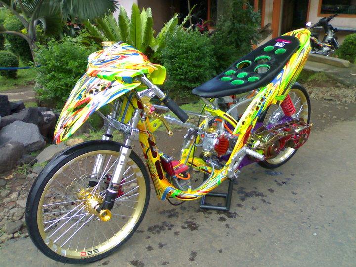 Modifikasi Motor  Custom Motorbike