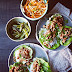 Dinner in 30 Minutes: Sweet & Spicy Pork Lettuce Cups With 2 Vegetable Sides