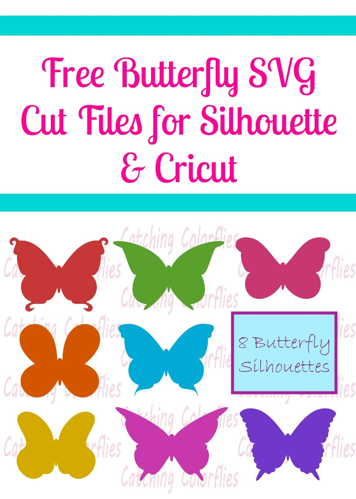 Download Free Butterfly SVG Cut File- Freebie Friday - Abbi Kirsten ...