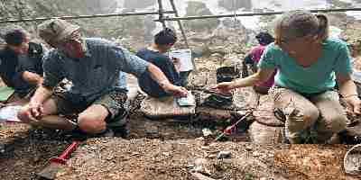 Os registros ambientais obtidos a partir de sítios arqueológicos no sul do Cabo da África do Sul