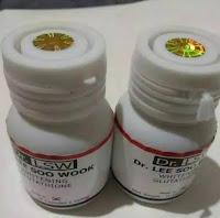 terlaris DR LSW WHITENING GLUTATHIONE ORIGINAL Obat Pemutih Kulit Badan 50 Kapsul herbal Asli Ampuh