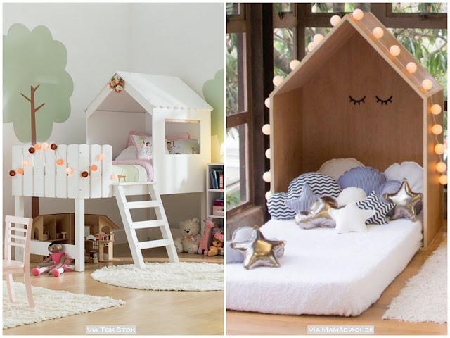 cama de casinha para menino