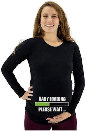 Funny Plus Size Maternity T-Shirts