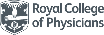 This is a logo for Royal College of Physicians.