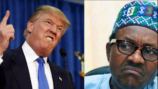 Buhari carry bad luck, U.S is not heaven Nigerians reacts as Trump finally Ban Nigeria