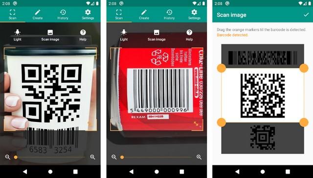 أفضل تطبيق لمسح رمز الاستجابة السريعة QR للاندرويد