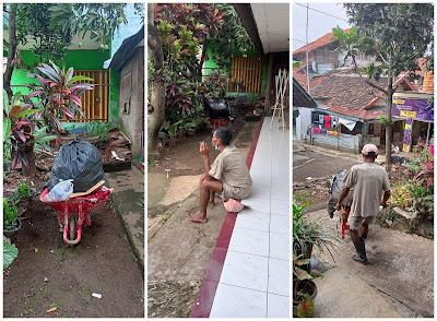 Petugas sampah di kawasan