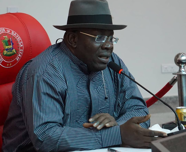 Bayelsa Election: Gov. Dickson Describes Lyon's Victory As A Military Coup Against Our Democracy