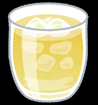 梅ジュースのイラスト