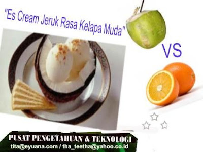 Es Cream Jeruk