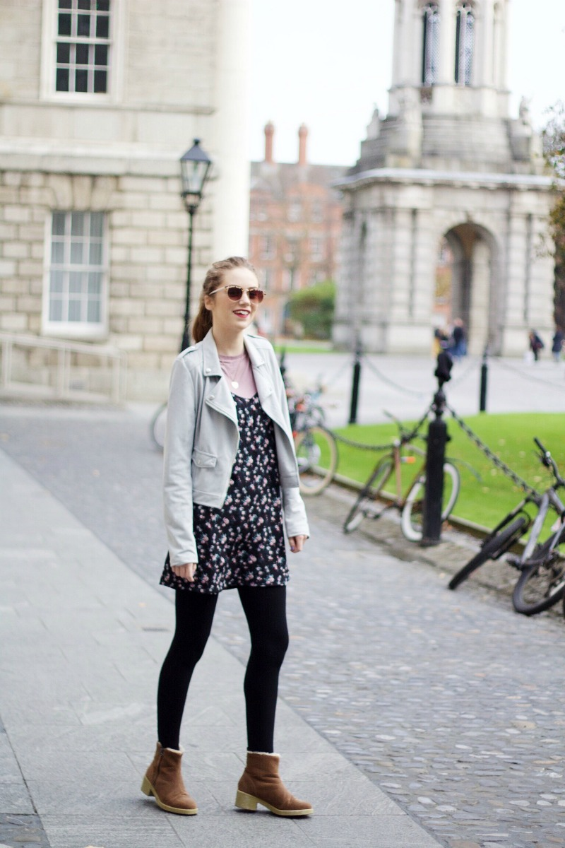 How to style a biker jacket outfit post