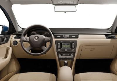 New Skoda Rapid Facelift Interior