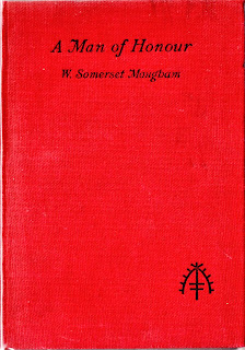 cover of A Man of Honour - W. Somerset Maugham Heinemann, 1912