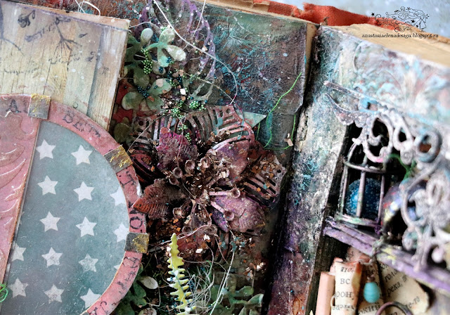 @nastyalena #alteredart #mixedmedia #scrapbooking #alterbook #altered book