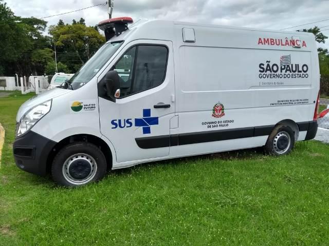 Dean Martins participa do evento de entrega da nova ambulância Tipo A no DRS XII em Registro-SP