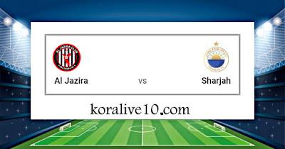 موعد مباراة الجزيرة والشارقة في بطولة دوري الخليج العربي الإماراتي |كورة لايف10