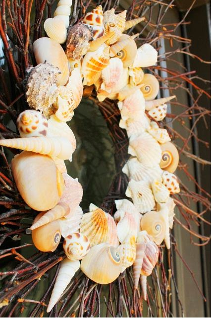 Miss Kopy Kat Easy Autumn Wreath: Serenity Now: Inspiring Project Ideas {link Party Features}