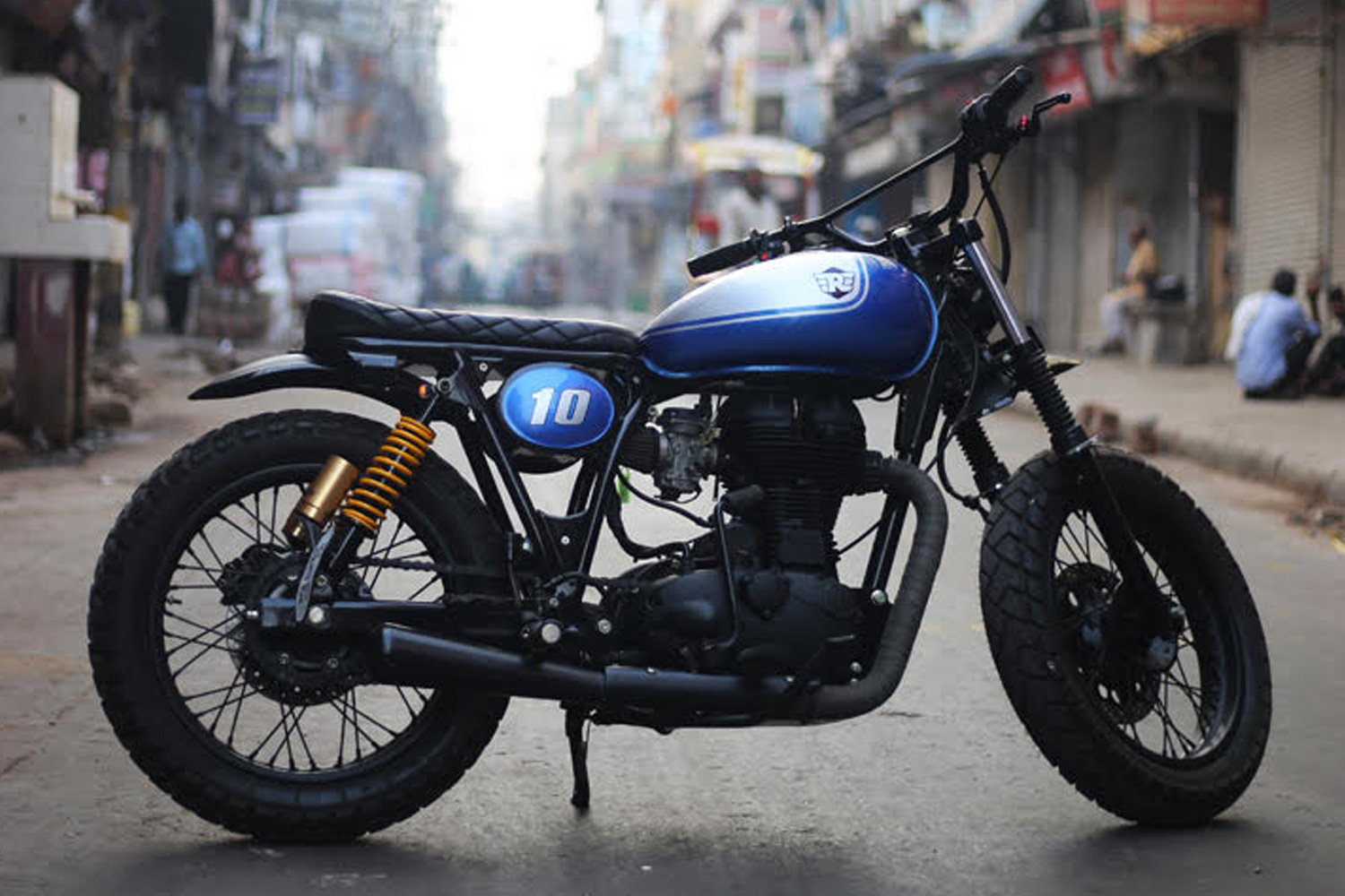 ϟ Hell Kustom ϟ: Royal Enfield By Rajputana Custom Motorcycles
