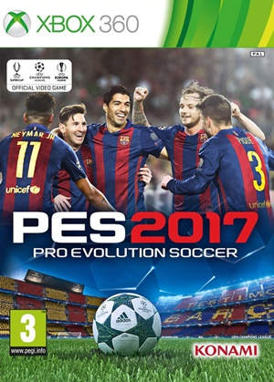 Pro Evolution Soccer 2017 XBOX 360 Español Latino