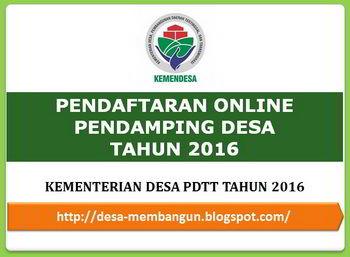Pendaftaran Tenaga Ahli Pendamping 2016