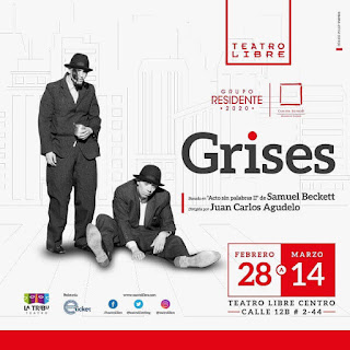 Obra GRISES | Teatro Libre del Centro Bogotá