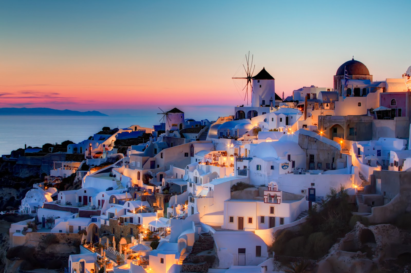 Travel places I want to see before I die Inspiration Santorini Greece