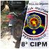 PM recupera motocicleta adulterada em Alagoinha, PE