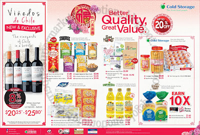 Cold Storage CNY Great Value 26 January - 01 February 2018 ~ Supermarket Promotions