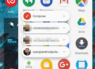 Download Gmail v 7.2 APK Update With Get Accounts App Shourtcuts Feature
