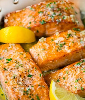 Buttered Salmon Recipe