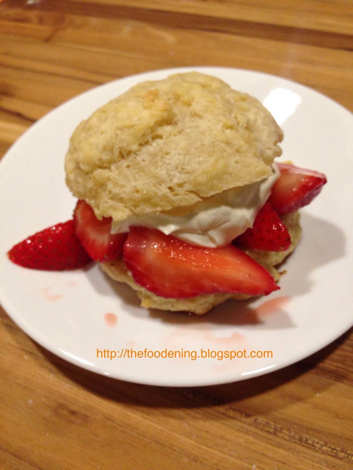 Strawberry Shortcake Cakes Singapore