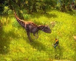لعبة حرب الديناصورات